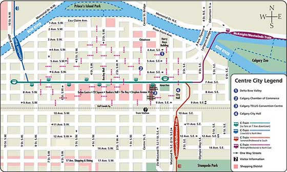 Downtown Calgary Map Downtown Calgary Map | compressportnederland Downtown Calgary Map
